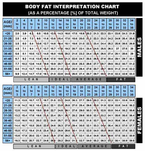 how to calculate fat percentage in food