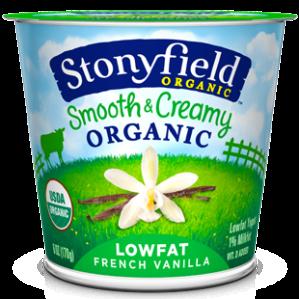 Low Fat Vanilla Yogurt