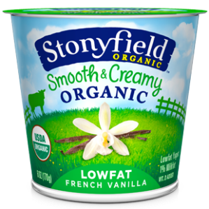 Low Fat Vanilla Yogurt