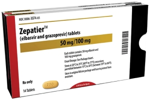 Zepatier for Chronic Hepatitis C