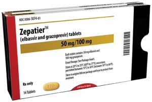 Zepatier for Chronic Hepatitis C